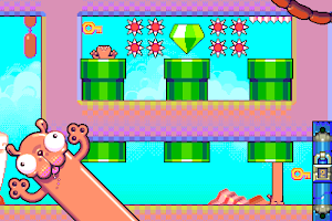 Screenshot 1: Silly Sausage in Meat Land
