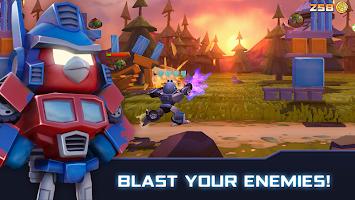 Screenshot 1: Angry Birds Transformers