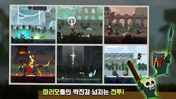 Screenshot 1: 마리모 리그 : 귀여운 마리모들의 치열한 전투 관전 시뮬레이션