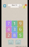 Screenshot 2: なぞってたしてけすパズル タシテケス 【脳トレ、足し算、10、15、20】