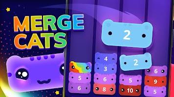 Screenshot 1: Catris - Merge Cat | Kitty Merging Game