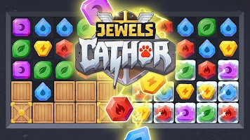 Screenshot 3: Jewels Cathor : Match 3 Puzzle