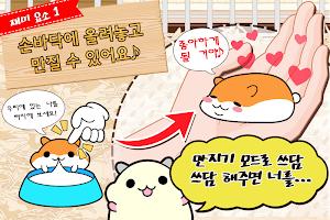 Screenshot 3: 햄스터 컬렉션 ◆ 무료 육성 게임! 한가로이 애완 동물 라이프