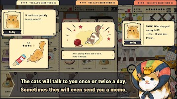 Screenshot 3: The cat's meow town