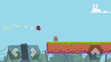 Screenshot 3: DERE EVIL EXE: Meta Horror Pixel Platformer