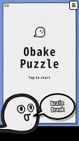 Screenshot 1: Obake Puzzle