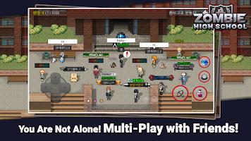 Screenshot 4: Zombie High School
