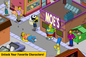 Screenshot 2: The Simpsons™:  Tapped Out