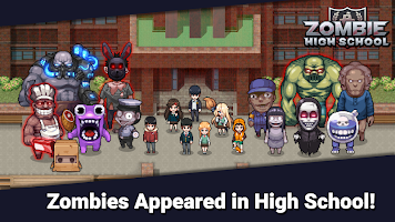 Screenshot 1: Zombie High School