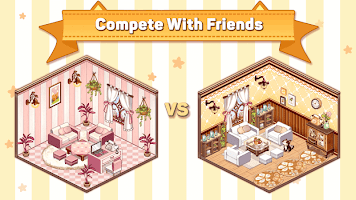Screenshot 3: Kawaii Home Design - Decor & Fashion Game