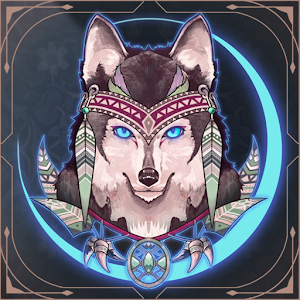Icon: Wolf And Moon : Sudoku