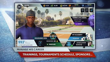 Screenshot 3: Tennis Manager 2019