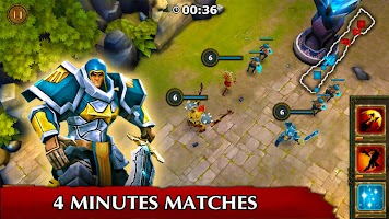 Screenshot 3: Legendary Heroes MOBA