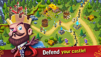 Screenshot 1: Castle Defense: The War Begins