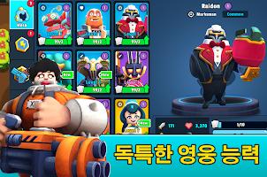Screenshot 2: Heroes' Strike - 3v3 Moba Brawl Shooter