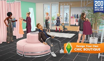 Screenshot 1: The Sims FreePlay