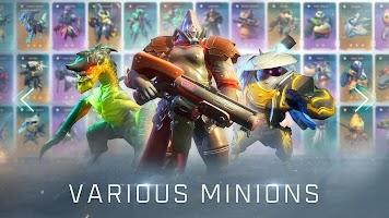 Screenshot 1: Arena of Evolution: Red Tides(Global)