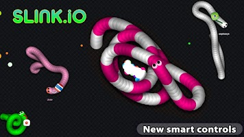 Screenshot 1: Slink.io - 뱀 게임