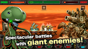 Screenshot 4: METAL SLUG DEFENSE