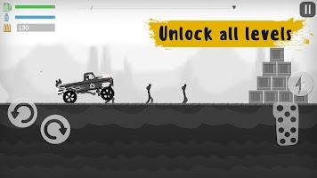Screenshot 4: Stickman Destruction Zombie Annihilation