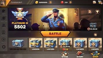 Screenshot 1: 戰爭熱潮