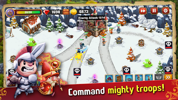 Screenshot 3: Castle Defense: The War Begins
