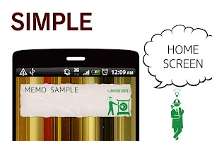 Screenshot 1: 메모장 Simple Notepad