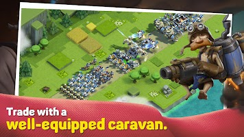 Screenshot 4: Caravan War: Heroes and Tower Defense