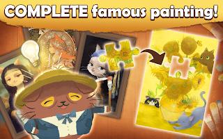 Screenshot 3: Cats Atelier -  A Meow Match 3 Game
