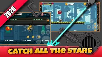 Screenshot 2: Red Hero 4:Bounce Ball Adventure