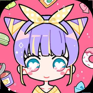 Icon: Cute Girl Avatar Maker - Cute Avatar Creator Game