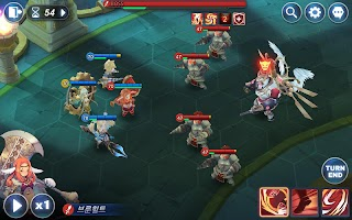 Screenshot 2: Kingdom of Hero: Tactics War (Japan)
