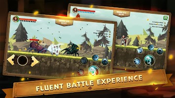 Screenshot 1: Guardian Knight Z: legend of fighting games.