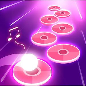Icon: Pink Tiles Hop 3D