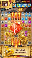 Screenshot 1: MonsterBusters: Match 3 Puzzle