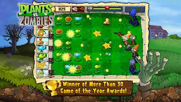 Screenshot 1: Plants vs. Zombies FREE