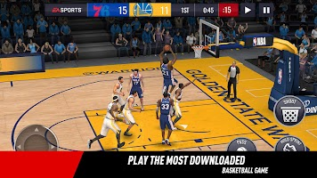 Screenshot 1: NBA LIVE Mobile