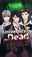 Screenshot 1: University of the Dead : Romance Otome Game