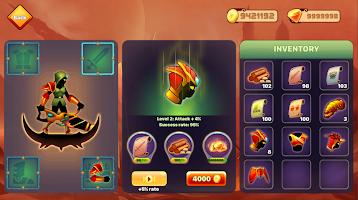 Screenshot 3: Stickman Ninja : Legends Warrior - Shadow Game RPG