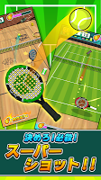 Screenshot 2: 机でテニス