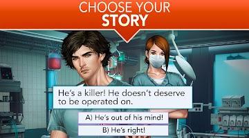 Screenshot 3: Is it Love? Blue Swan Hospital - Choose your story