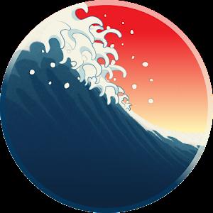 Icon: UkiyoWave