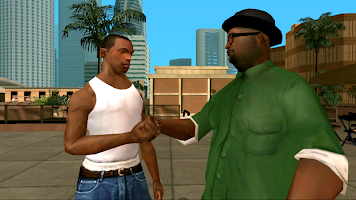 Screenshot 1: Grand Theft Auto: San Andreas