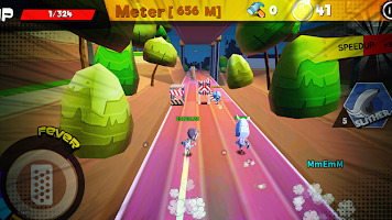 Screenshot 1: Running Mania