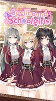 Screenshot 1: Spellbound Schoolgirls!