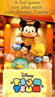 Screenshot 1: LINE: Disney Tsum Tsum - Global
