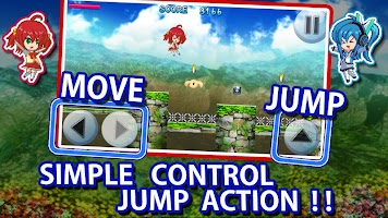 Screenshot 2: Double Jump Ringo Run Action