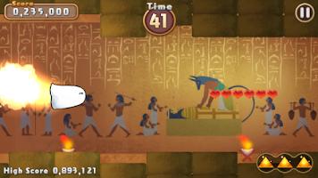 Screenshot 1: Flying Mr. Medjed