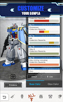 Screenshot 1: GUNDAM BATTLE GUNPLA WARFARE | English