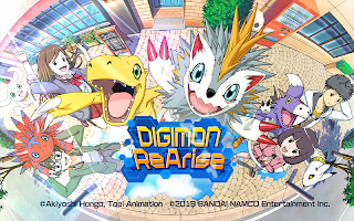 Screenshot 1: Digimon ReArise | Global (English,Chinese,Korean)